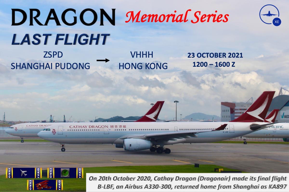 [XE+HQ] Dragon Memorial Series: Last Flight